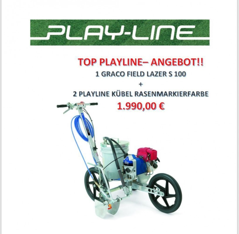 Graco S100 plus 2 PLAYLINE Farbkübel